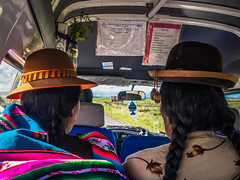 Colectivo - taxi (pzartmann) Tags: titicaca see taxi colectivo natives