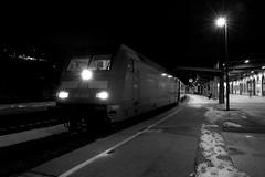 Ein Eurocity wird in Berchtesgaden HBF bereitgestellt (Uwe Wieteck) Tags: berchtesgaden bahnhof ec berchtesgadenhbf