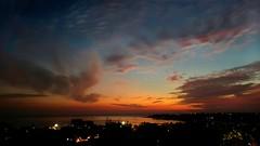 Beautiful Sunset (Farooq_kapadia) Tags: life sunset sea sky sun sunlight love tourism beach beautiful night evening google amazing colorful peace mumbai versova googleimage mobilephotography yariroad pearlheights s6edge