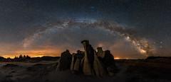 TRNP Milky Way 4.15 (Jack Lefor) Tags: panorama lightpainting nature night stars landscape nikon scenic panoramic northdakota theodorerooseveltnationalpark nikond810