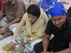 SikhTempleNewDelhi026 (tjabeljan) Tags: india temple sikh newdelhi gaarkeuken sikhtemple gurudwarabanglasahib