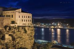 La hora azul (Luis R.C.) Tags: nikon viajes nocturnas menorca mahn d610