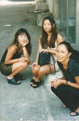 Asian-American ladies (STUDIOZ7) Tags: girls urban woman asian women toes sandals cigarette smoking smoker