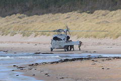 Beach exercise (.....cowboybuilder.....) Tags: helicopter usnavy seahawk