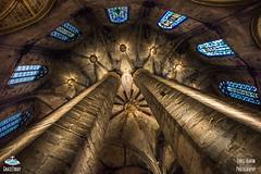 Baslica de Santa Mara del Mar (ChrisKarun) Tags: barcelona santa del de mar spain nikon europa europe cathedral mara baslica d810 1424mm gracetoday