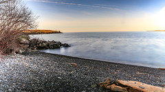 Marina 3 (lnoelle89) Tags: wood blue sky lake ontario beach yellow canon skies purple stones niagara driftwood lakeontario clearsky drift density nofilter neutral neutraldensity canonphotography slear canon6d canonofficial lightroom6