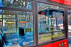 LONDON 1604271164 (Harry Halibut) Tags: road blue red people bus london art public yellow reflections united group palace images victoria buckingham allrightsreserved shope londonbuildings londonarchitecture imagesoflondon colourbysoftwarelaziness publicartinlondon 2016andrewpettigrew