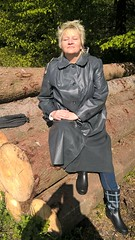 WP_20160429_10_15_45_Pro (Kleppergarry) Tags: vintage mac rubber latex raincoat wellies klepper regenjacke regenmantel kleppermantel gummimantel gummikleidung