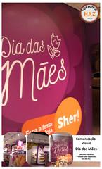 Comunicao Visual Loja Sher - Dia das Mes (hazsign) Tags: comunicao haz mbile adesivo ambientao impresso hazsign