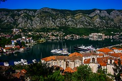 Beautiful Day, Kotor (HiRoAki Saneyociy Lunar) Tags: coast europe pentax yacht euro montenegro kotor 2015  18135 k52  easterneuro   riacoast k5
