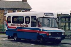 Annan Mini-bus Service C532 HVP (Stuart Dobie) Tags: annan carlyle minibus fordtransit route382 c532hvp gallaghereastriggs