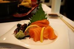 Salmon at Hamamori (deeeelish) Tags: fish sashimi salmon