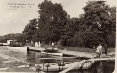 Ft Winnebago Lock, B&W Original