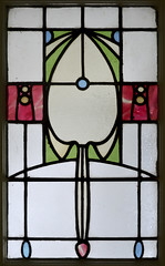 Ernest Archibald Taylor stained glass 3 (RDW Glass) Tags: flower jessie scotland king glasgow stainedglass artnouveau taylor ernest paisley ea wylie charlesrenniemackintosh glasgowstyle archibald stylised rdwglass lochead wraggeandco