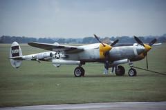 P-38J Lightning (Pentakrom) Tags: duxford 1992 lightning lockheed iwm p38 usaaf happyjacksgobuggy nx3145x
