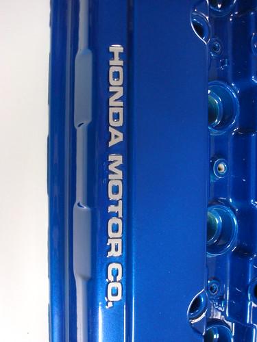 Honda B-series Valve Cover Blue