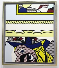 Two Paintings with Dado (1983) by Roy Lichtenstein (Sokleine) Tags: paris france museum painting exhibition muse exposition popart grandpalais roylichtenstein 75008 picassomania