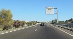 A-66-19 (European Roads) Tags: de la sevilla andaluca spain plata andalusia alto venta santiponce autova a66 gerena algaba