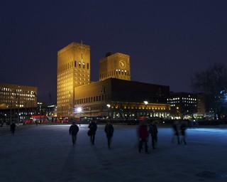 Oslo Winter Night