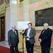 Rubovszky György, a KDNP frakcióvezető-helyettese, Vejkey Imre, a KDNP frakcióvezető-helyettese és Lomnici Zoltán, az Emberi Méltóság Tanácsának elnöke
