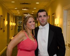 Preshow PJ Fay and Amy Leisner