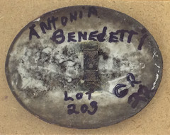 Benedetti, Antonina (back) (polishmission1) Tags: detroit genealogy ancestry polishhistory benedetti holycrosscemetery