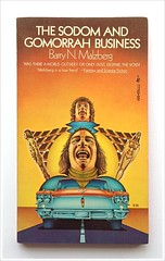The Sodom And Gomorrah Business by Barry Malzberg (unsubscribed blog) Tags: art book paperback cover vintagescifi vintagesciencefiction vintagesf unsubscribedblog