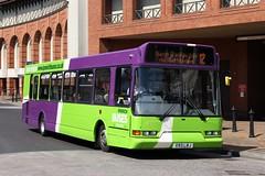 Ipswich Buses, 93 (X93LBJ) (Chris GBNL) Tags: bus 93 ipswichbuses dennisdartslf eastlancsspryte x93lbj