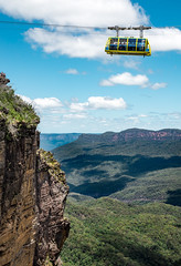 A lonely climber - Greater Blue Mountains Area, Australia (Unesco world heritage site) (Maria_Globetrotter) Tags: world new trip travel summer vacation heritage tourism sports beautiful car wales canon wonderful landscape amazing nice fantastic day cloudy good south extreme sightseeing culture cable visit adventure destination traveling climber exploration unescoworldheritage cultural mondial 6d oceania 2016 oceanica 2015 vrldsarv mariaglobetrotter wwwmariaswardcom img0313armin photounesco welterbepatrimoine