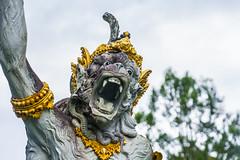 _71K4663.jpg (Pete Finlay) Tags: bali statue bedugul hindustatue balibotanicgarden