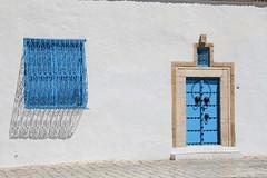 Sidi bou said (Esther Goroskieta) Tags: door blue color colour blanco luz window azul ventana pared puerta tunisia tunez