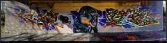 Artists: WUAM and REKZ (pharoahsax) Tags: world street urban bw streetart get art colors wall writing germany painting deutschland graffiti artwork mural paint artist kunst tag tags spray peinture urbanart painter need writer graff baden karlsruhe ka legal spraycan wrttemberg sden wuam pmbvw worldgetcolors