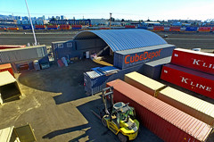 Cube Depot Container Cover (SteelMaster Buildings) Tags: roof industry port docks harbor ship arch steel arches container cover shipping roofing shipment steelmaster