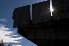 More Hall Annex (Frank Fujimoto) Tags: seattle uw architecture clouds wa sunstar