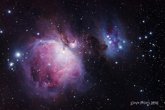 Orion Nebula & NGC 1977/75/73 (TierraCosmos) Tags: stars astrophotography orion m42 astronomy astrophoto orionnebula m43 ngc1977 astroimaging runningmannebula astronomicalobject