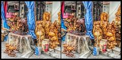 hdr- Jinghong, Yunnan (China) 30           31 (Bruno Zaffoni) Tags: china wood carving yunnan cina legno scultura jinghong