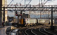 Glasgow Central Approach (goremirebob) Tags: station scotland glasgow trains scotrail railways localtrain electrictrain glasgowcentral class380