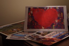 Day 8 - Home (The Panic Rose) Tags: family france home heart australia postcards homesick homesickness