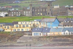 Rooms with a View.. (Michael C. Hall) Tags: ireland houses beach view shore overlooking ballyheigue