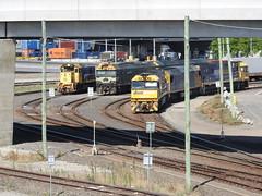 H1, G539-G543,NR19-AN4-NR43 on MC2 (damoN475photos) Tags: mc2 h1 nr pn vline freightaustralia an4 nr19 appletondock g543 g539 nr43 freightvictoria