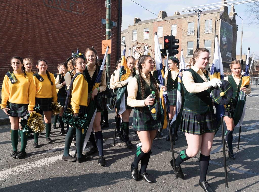 SHORECREST HIGH SCHOOL [ST. PATRICK'S PARADE IN DUBLIN 2016]-112218