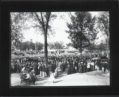 Kalamazoo High School Graduation, 1893 (kplcommons) Tags: house history public photography dress michigan library graduation clothes kalamazoo roads schools carts carriages childern babycarriages