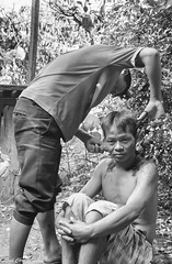 c20140707NFX_4503 (youngman242) Tags: bw haircut monochrome teenagers vietnam favour daknong homeactivity hottuc