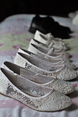 All the Shoes (kimnadineprowse) Tags: wedding canon shoes bridesmaid flowergirl pageboy