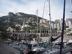 LA MONTAGNE (marsupilami92) Tags: port montagne vacances cotedazur monaco bateau fontvieille tourisme principaut promontoire