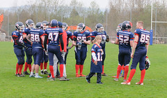 20160403_Avalanches Annecy Vs Falcons Bron (28 sur 51) (calace74) Tags: france annecy sport foot division falcons bron amricain avalanches rgional