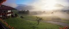 Fog In The Morning Pano (RalfK61) Tags: oktober 10 herbst 2015 herbstferien ruhpolding