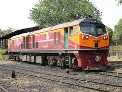 Bang Sue Depot, Thailand (Barang Shkoot) Tags: electric train thailand asia general diesel bangkok engine loco depot locomotive ge siam gauge cummins bkk srt metre bangsue 4534 rotfai