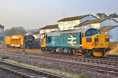 On loan to Colas Rail | 37025 rests at Goodrington Sidings 13/03/16 (South West Transport News) Tags: group scottish rail 37 inverness loan | on tmd rests colas sidings goodrington 37025 130316