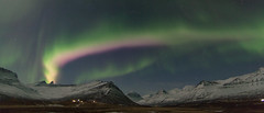 Northern lights in Faskrudsfjordur (*Jonina*) Tags: longexposure winter sky night iceland 500views sland northernlights auroraborealis 1000views vetur ntt himinn norurljs 50faves fskrsfjrur faskrudsfjordur jnnagurnskarsdttir march16th2016